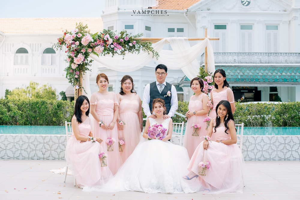 brides maid macalister mansion