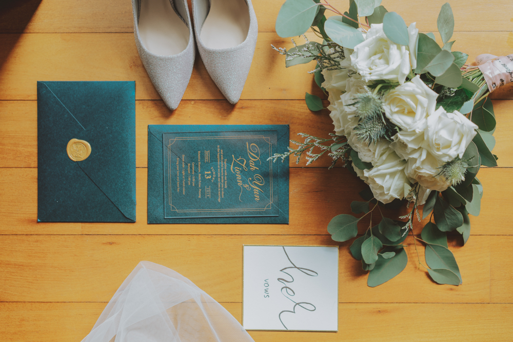 bride detail flatlays wedding detail photography