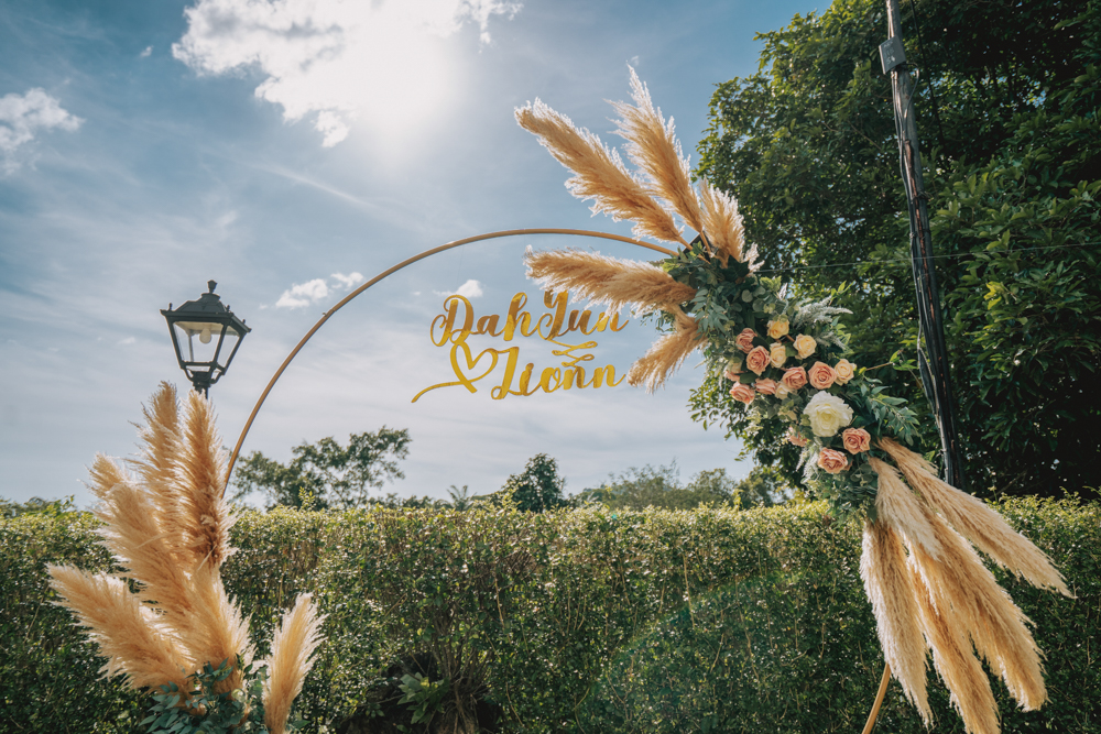 decoration wedding whatabash penang botanical mansion