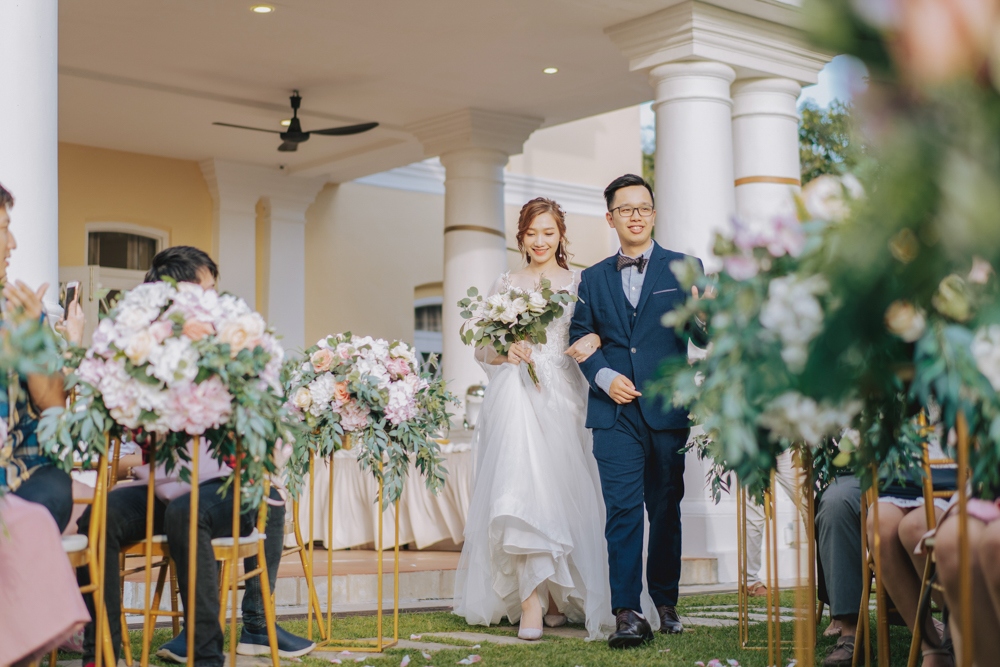 beautiful wedding march in photography inspiration by vampches