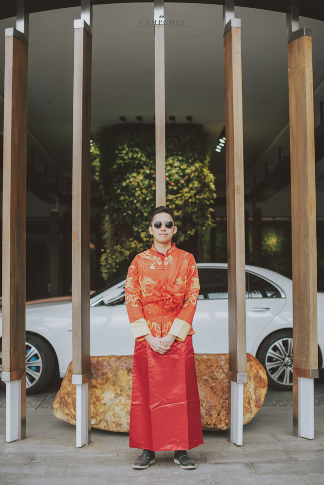 penang groom chinese attire