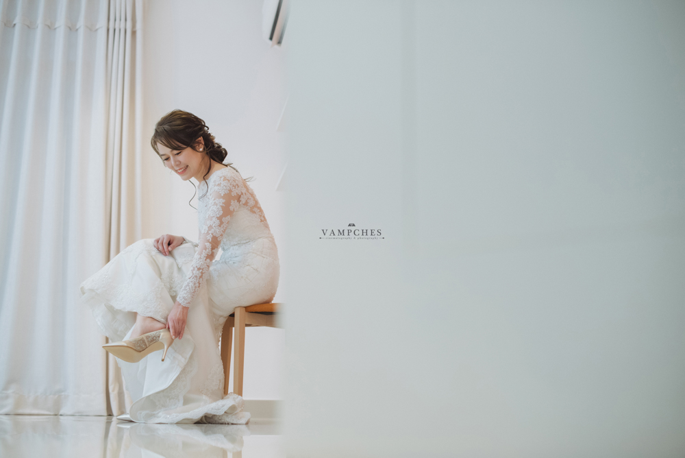 bride getting ready Penang wedding photography malaysia